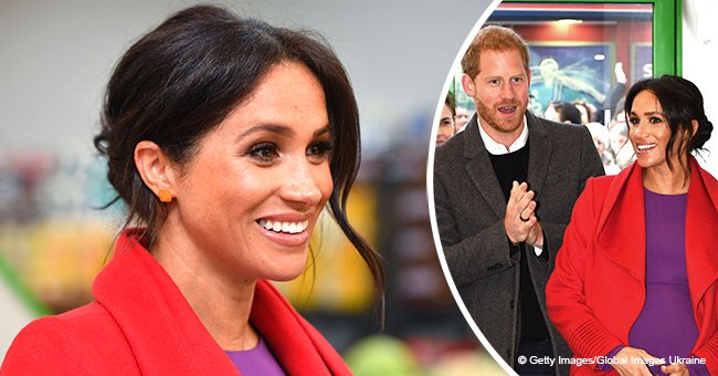 Meghan Markle reveals when she's due to give birth to her and Prince Harry's first child