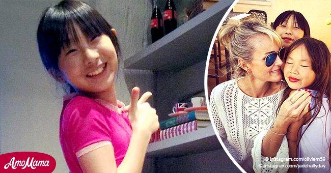 Jade Hallyday retourne au Vietnam, adressant un message doux à Laeticia Hallyday