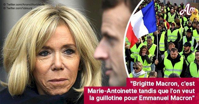 Brigitte Macron souffre de la colère des gilets jaunes: 'Marie-Antoinette, qui vit dans sa bulle'