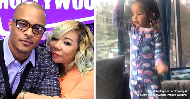 Tiny & T.I.'s daughter Heiress shows off her epic 'shoot dance' in hilarious new video