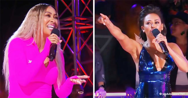 La La Anthony & Mel B Fire Shots at Each Other during Tense Freestyle Battle on 'Drop the Mic'