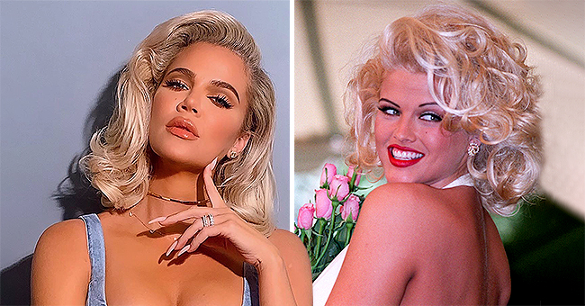 KUWTK Star Khloé Kardashian Channels Anna Nicole Smith's Iconic Look in New Photo Shoot