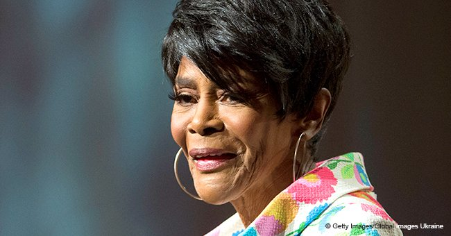 Cicely Tyson's giant black hat turns heads at Aretha Franklin funeral