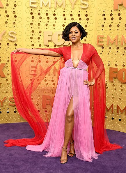 Taraji P. Henson at the 71st Emmy Awards on September 22, 2019 | Photo: Getty Images