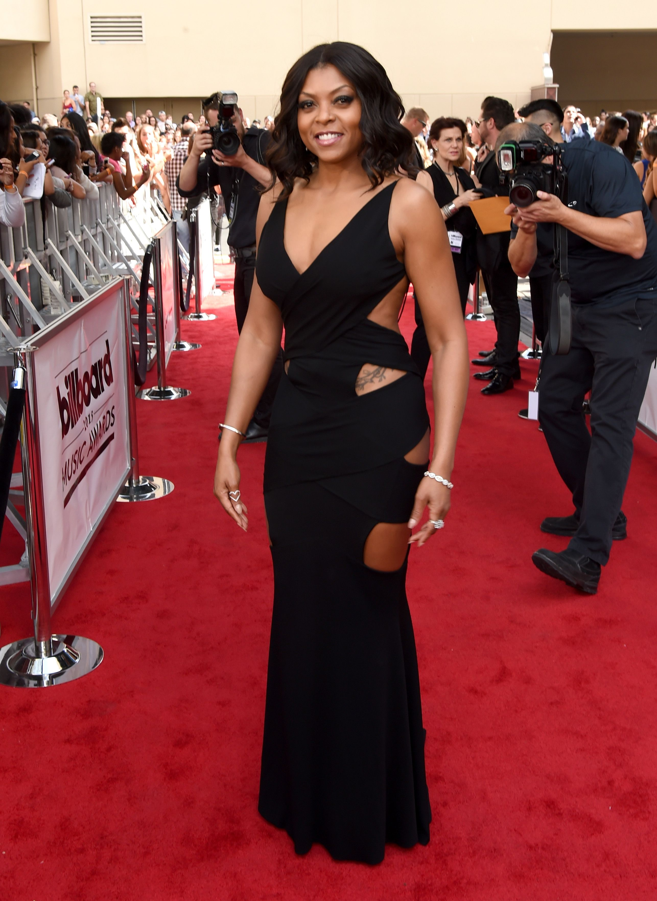 Taraji P. Henson during the 2015 Billboard Music Awards at MGM Grand Garden Arena on May 17, 2015 in Las Vegas, Nevada. | Source: Getty Images