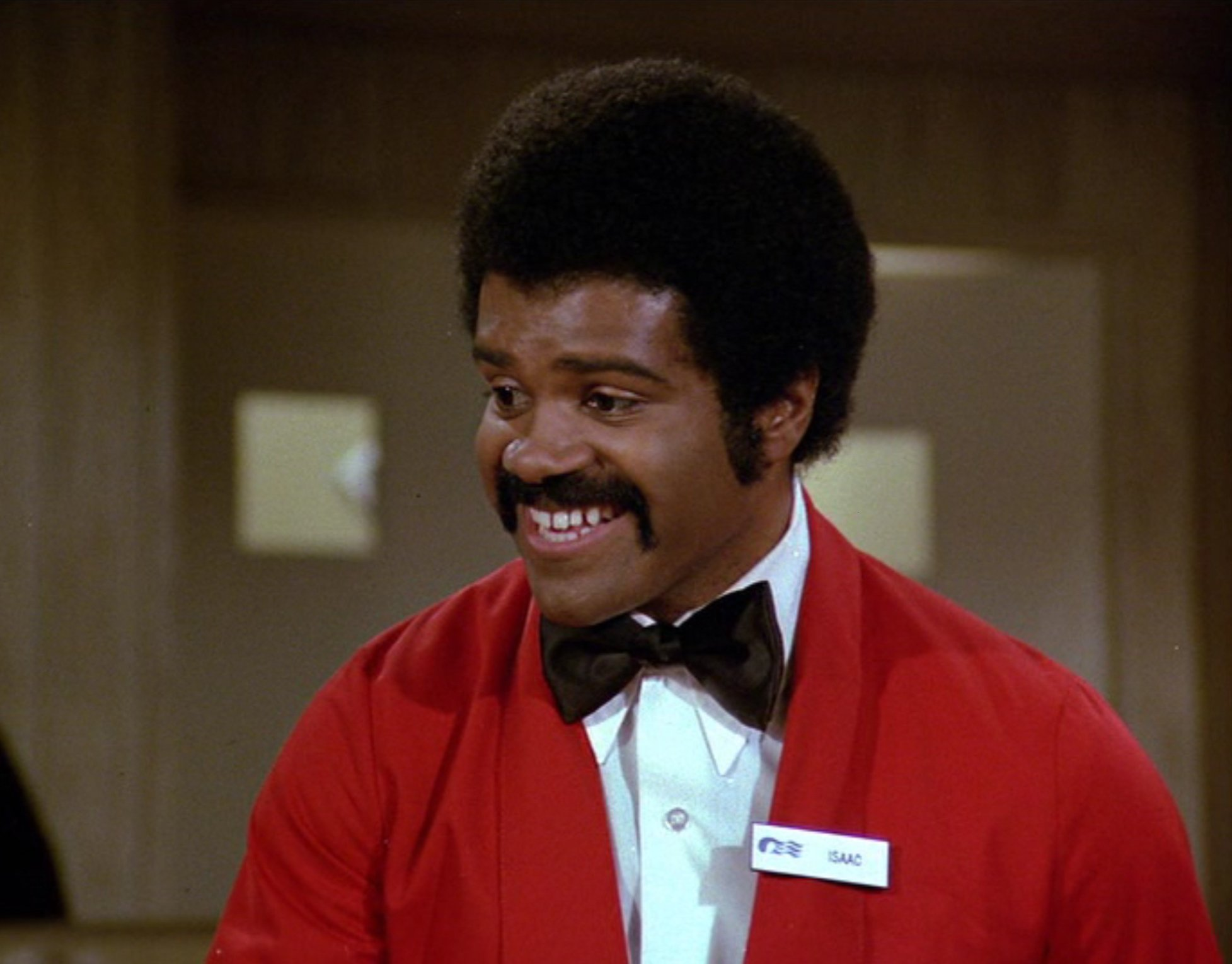 Ted Lange starring as Isaac the Bartender on The Love Boat on September 23, 1978 | Photo: Getty Images