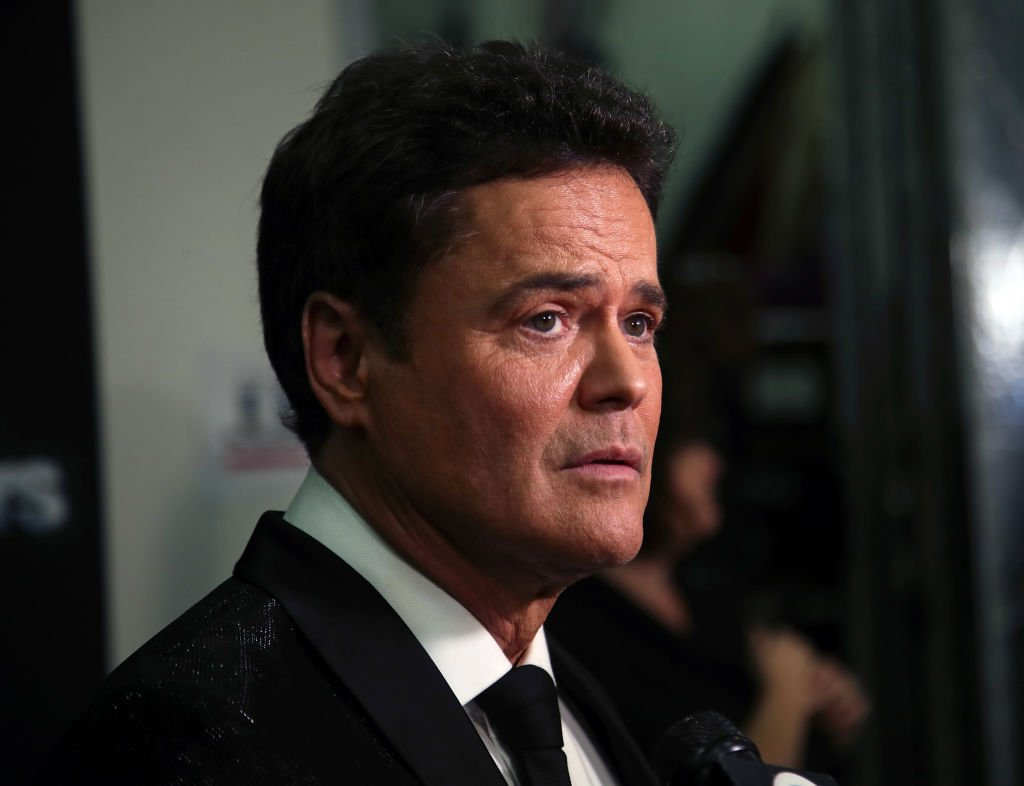 "Singer Donny Osmond attends ""Dancing with the Stars"" Season 24 at CBS Televison City in Los Angeles, California 