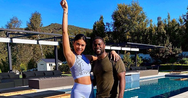 Kevin Hart Shared Snap from Morning Outdoor Workout with Pregnant Wife Eniko Amid Pandemic