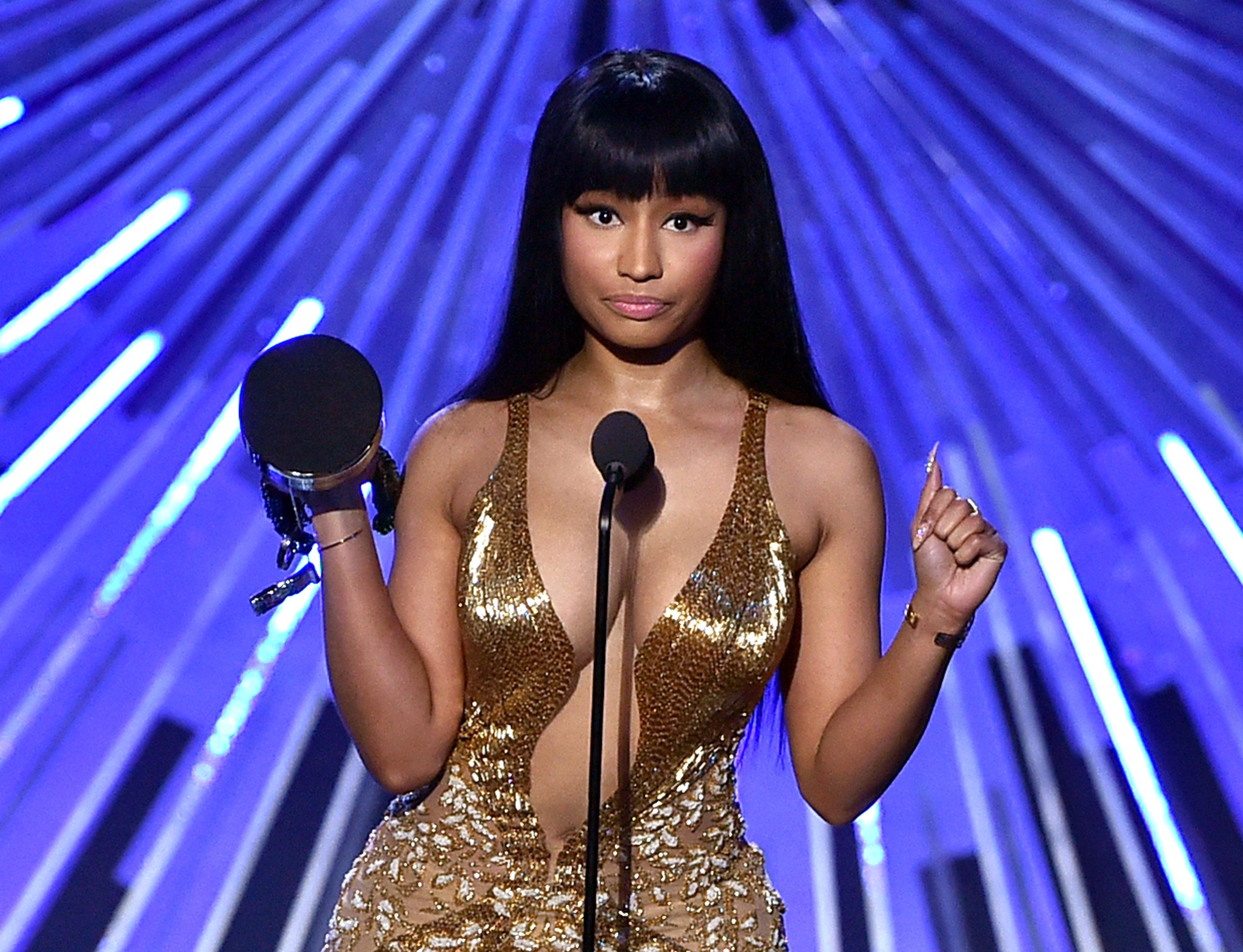 Nicki Minaj at the MTV Video Music Awards in Los Angeles on Aug. 30, 2015 | Photo: Getty Images