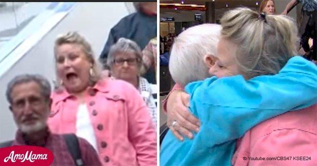 La première fois qu'une mère rencontre son enfant, qu'elle a gardé secret pendant 52 ans