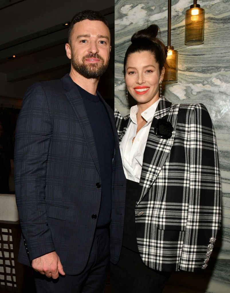 Justin Timberlake und Jessica Biel, West Hollywood, 2020 | Quelle: Getty Images