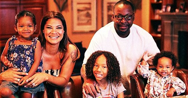 Bobby Brown and Alicia Etheredge Pose with Their Kids as They Promote Family Cooking Show
