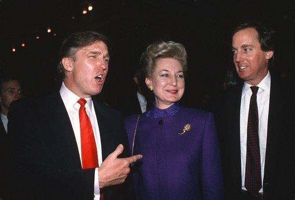 Donald Trump, Maryanne Trump Barry, and Robert Trump in Atlantic City, New Jersey in 1990 | Photo: Getty Images