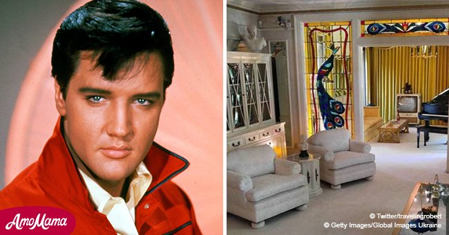 Elvis Presley's Graceland estate is open to the public – take a peek inside