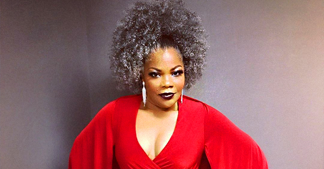 Mo'Nique Flaunts Her Snatched Waist in Red Jumpsuit After Weight Loss (Photo)