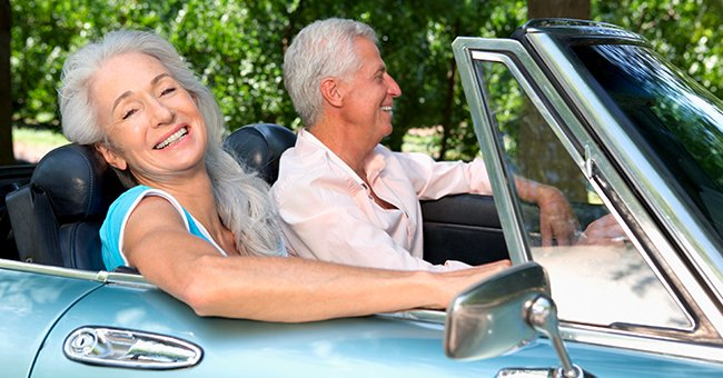 Daily Joke: A Senior Couple Stopped for Lunch during Their Road Trip