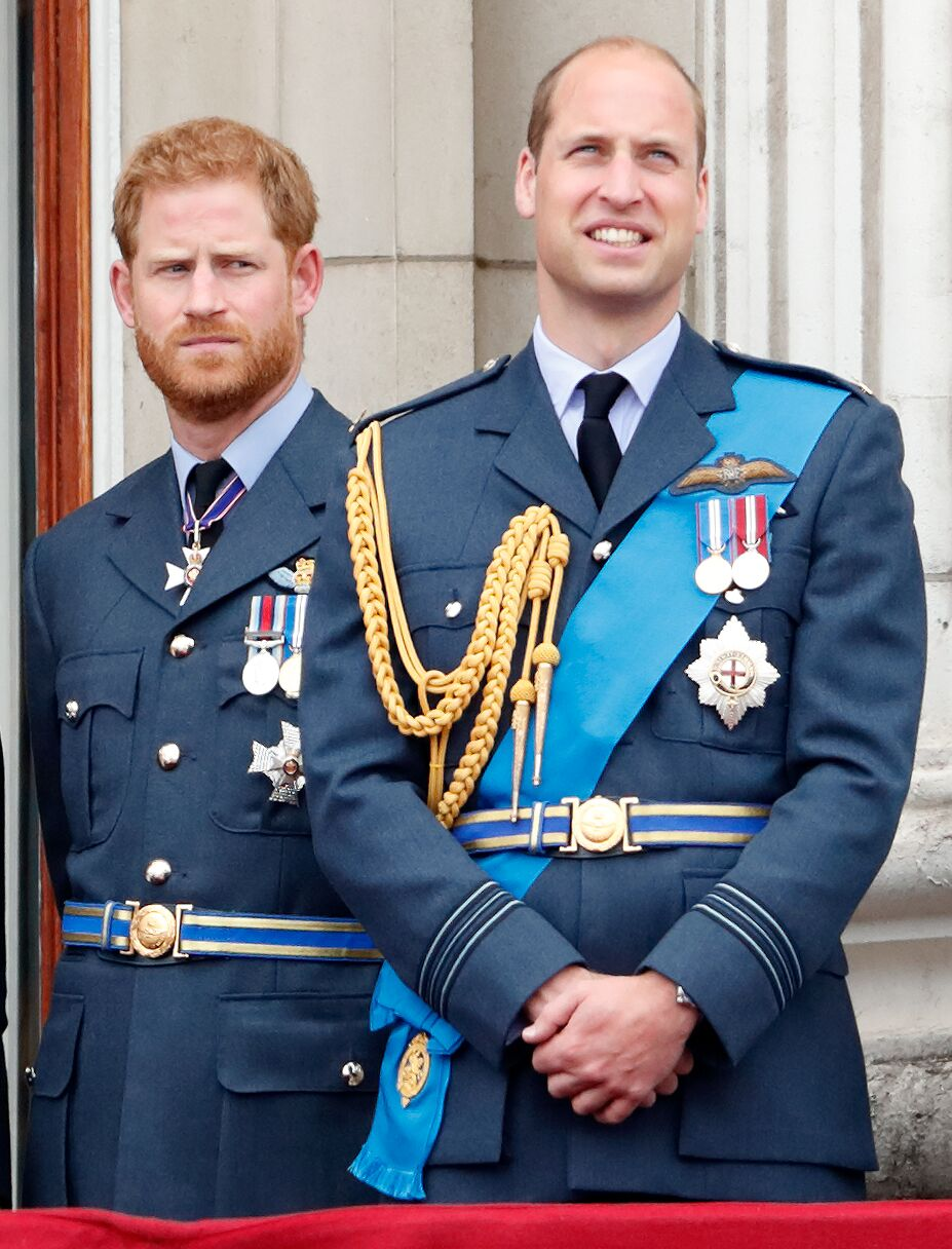 Prince Harry, Duke of Sussex and Prince William, Duke of Cambridge  in 2019 | Source: Getty Images