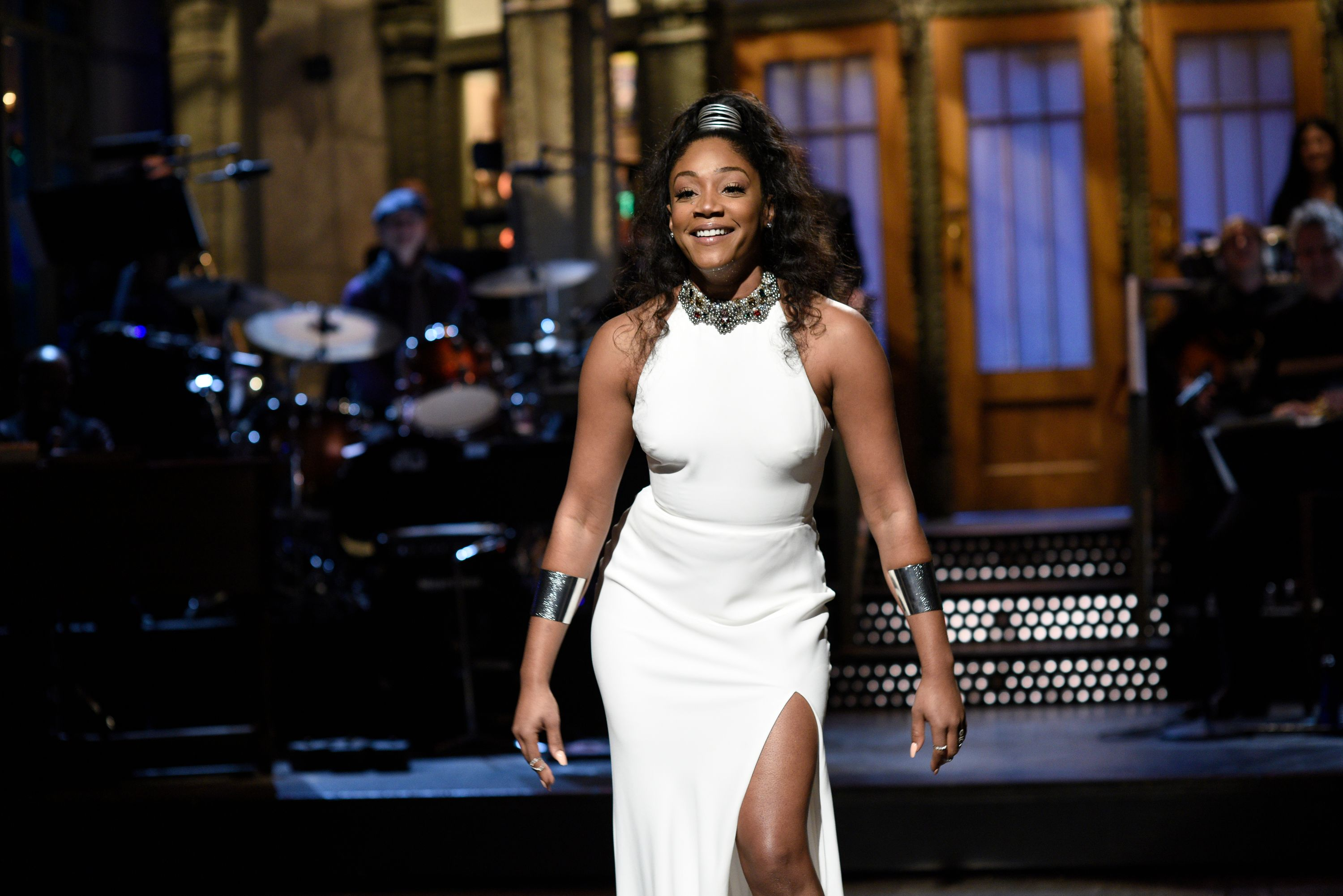 Tiffany Haddish during the Opening Monologue in Studio 8H on November 11, 2017. | Photo: Getty Images