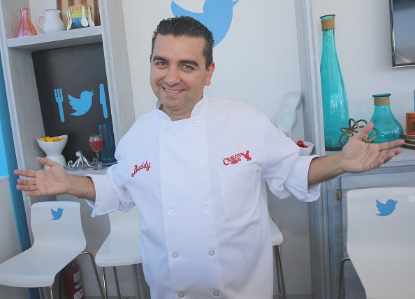 Buddy Valastro attends a book signing with Twitter at Goya Foods Grand Tasting Village on February 27, 2016, in Miami Beach, Florida.   Source: Getty Images.