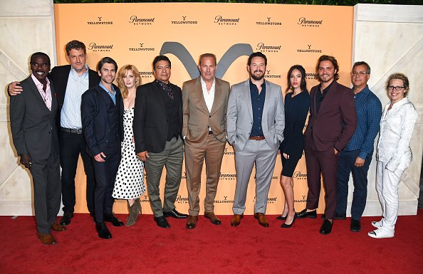 "Yellow Season Cast at the Paramount Network's ""Yellowstone"" Season 2 Premiere Party at Lombardi House on May 30, 2019 in Los Angeles, California 
