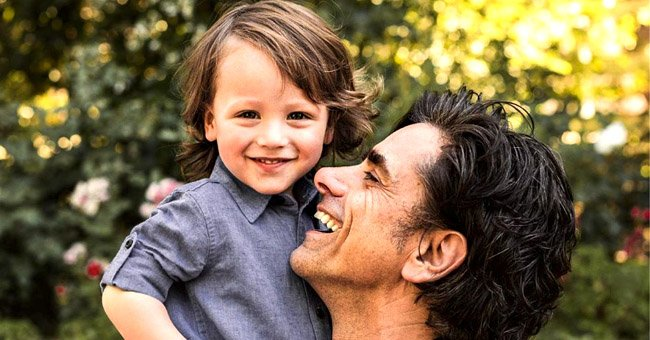 John Stamos and His Wife Caitlin McHugh Pose with Their Little Son Billy Ahead of Father's Day