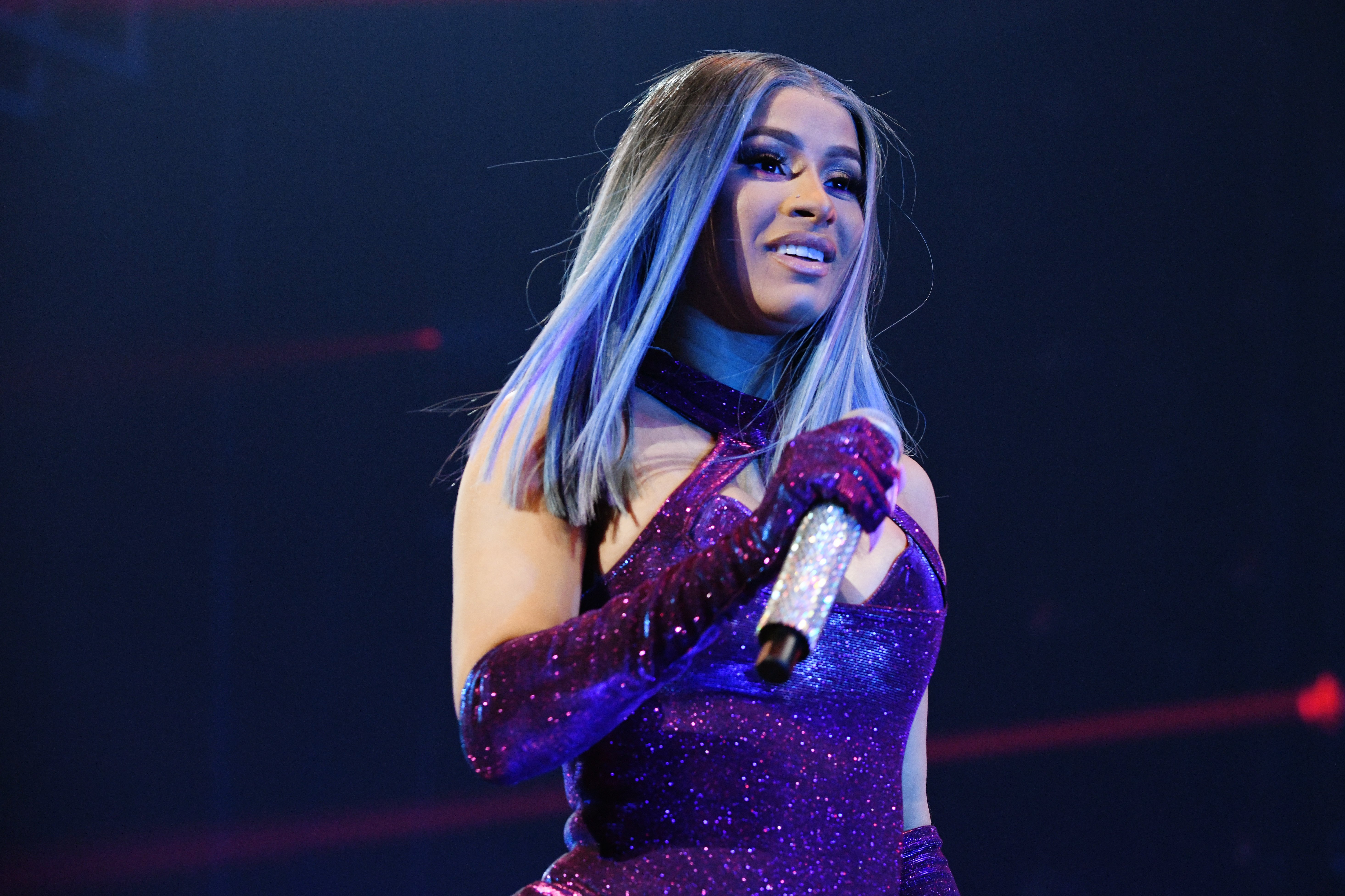 Cardi B performs onstage during BET Experience at Staples Center on June 22, 2019 in Los Angeles, California. | Photo: GettyImages