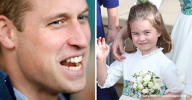 Prince William Revealed His Precious Parent Struggles of Trying to Style Princess Charlotte's Hair
