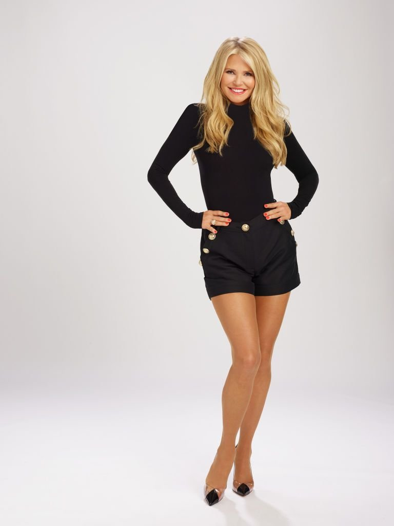 """Christie Brinkley during a promotional shoot for """"Dancing With The Stars"""" in 2019 