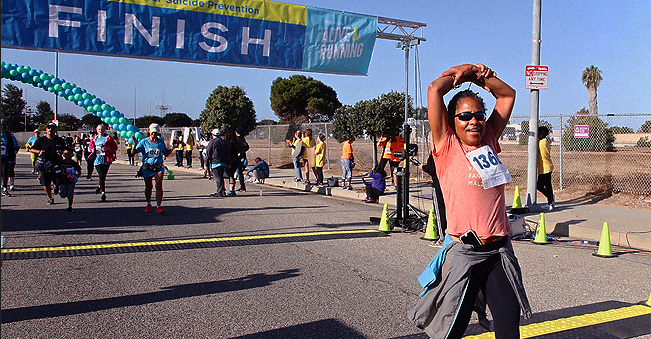 Meghan Markle's Mother Doria Ragland Runs 5K for a Suicide Prevention Charity in LA