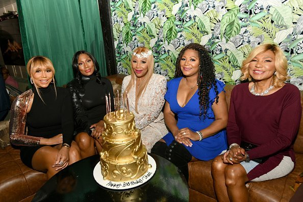 "The Braxtons at the premiere of ""Braxton Family Values"" at Doheny Room on April 02, 2019 