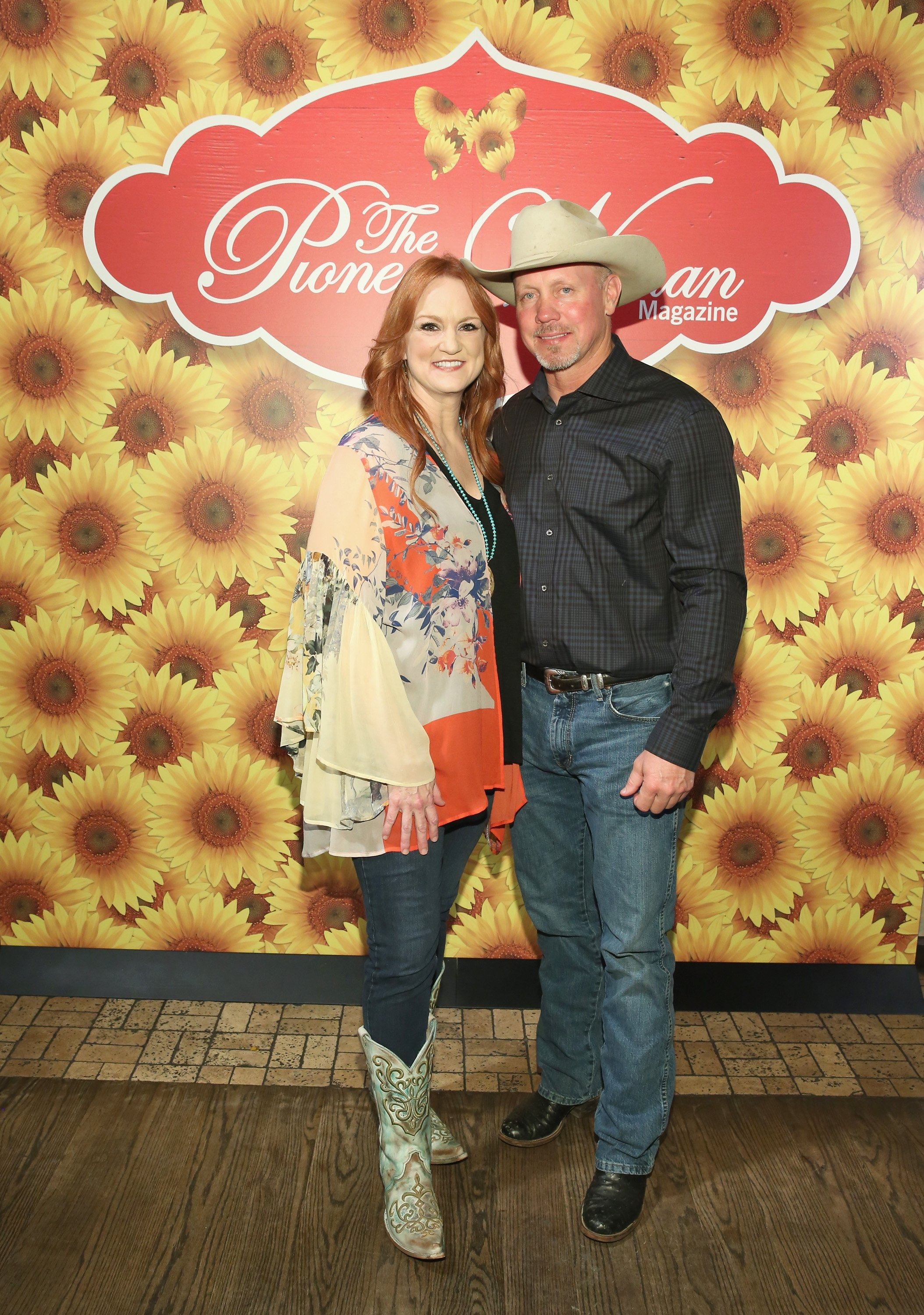 Ree Drummond and Ladd Drummond pose for a photo during The Pioneer Woman Magazine Celebration at The Mason Jar on June 6, 2017 in New York City | Photo: Getty Images