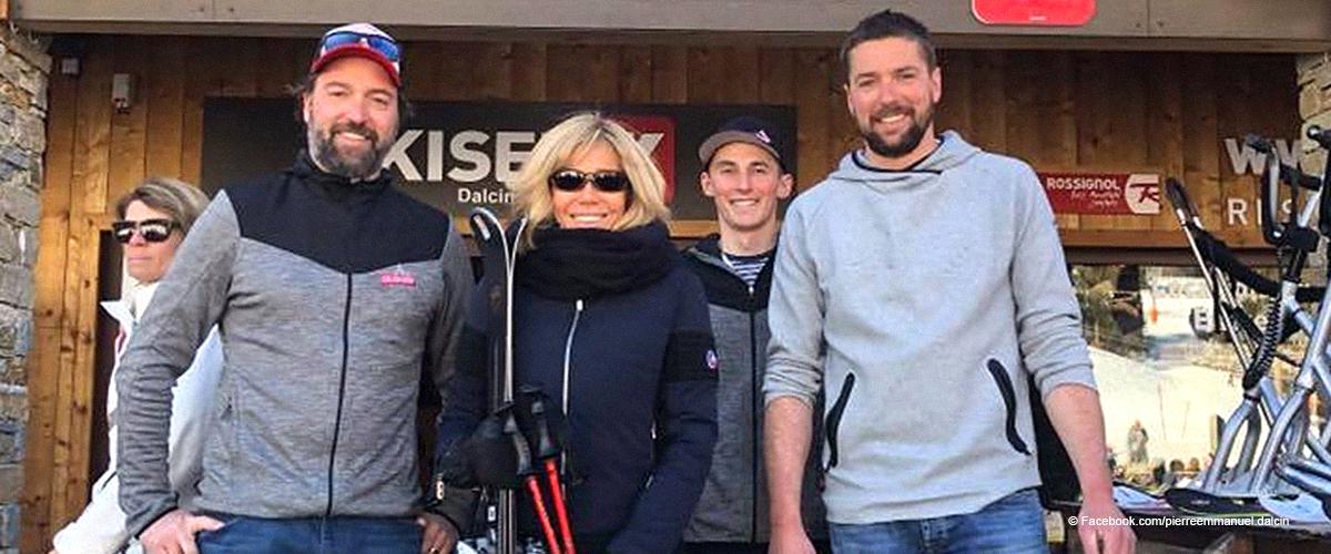 """""""Très sympa"""" : Brigitte Macron en compagnie d'hommes charmants pour des vacances au ski en Savoie"""
