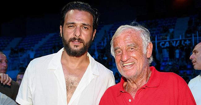 Jean-Paul Belmondo a passé une soirée folle avec Maxim Nucci, lors d'un match de boxe
