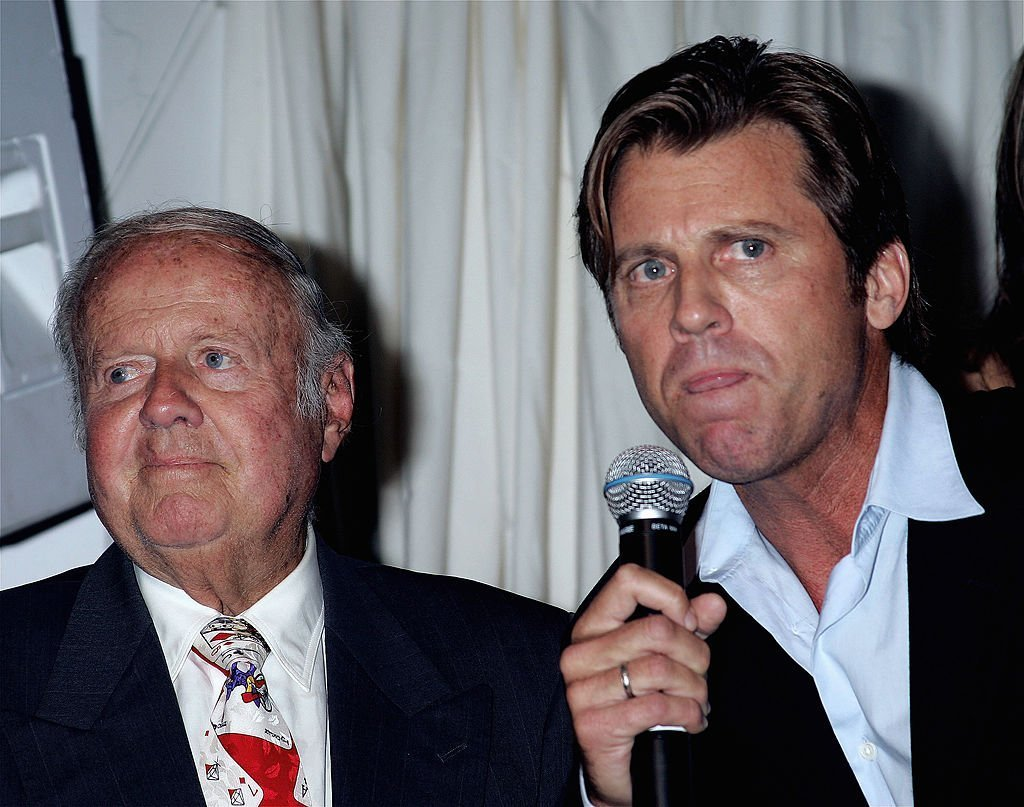 Dick and Vince Van Patten at HollywoodPoker.com's first year anniversary party | Getty Images