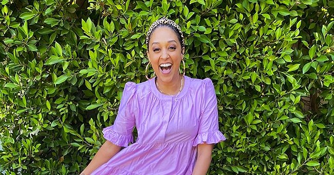 Tia Mowry's Daughter Cairo Flaunts White Dress and Head Wrap in a Cute Photo