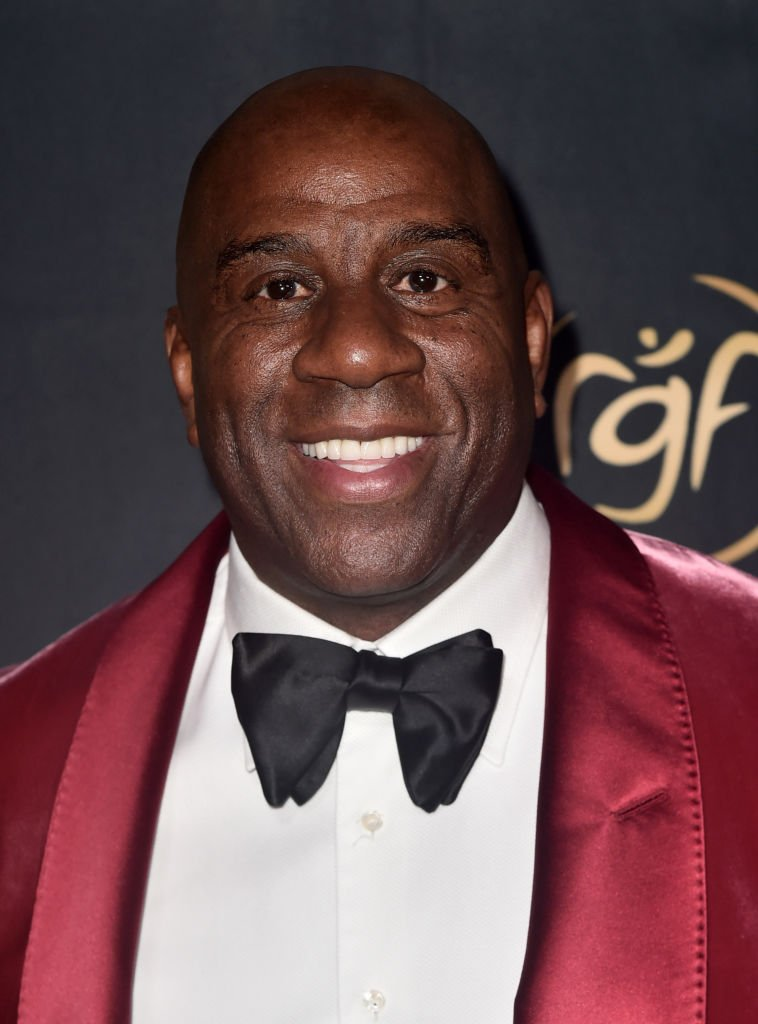 """Earvin """"Magic"""" Johnson attends The Ryan Gordy Foundation Celebrates 60 Years Of Mowtown at Waldorf Astoria Beverly Hills 