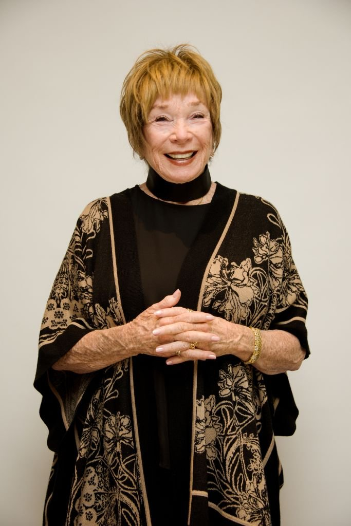 """Shirley MacLaine at """"The Last Word"""" press conference at the Four Seasons Hotel on March 3, 2017   Photo: Getty Images"""