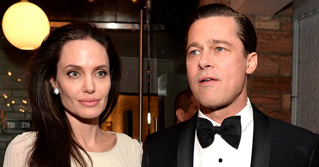 """Angelina Jolie and Brad Pitt attend the after-party for the opening night gala premiere of Universal Pictures' """"By the Sea"""" , November 2015 