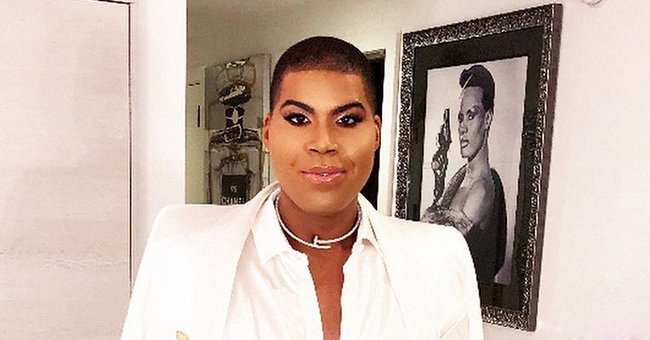 Magic Johnson's Son EJ Stuns in Black Slit Skirt and White Top in New Photos