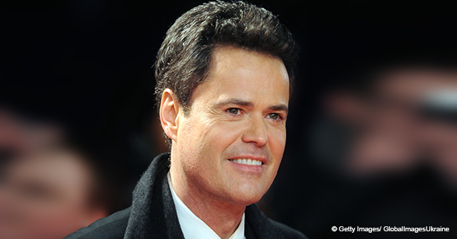 Donny Osmond Shares Rare Photo with Two of His 10 Grandsons