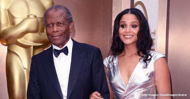 Iconic Sidney Poitier Has an Incredible Grown-Up Daughter Who Looks like Him