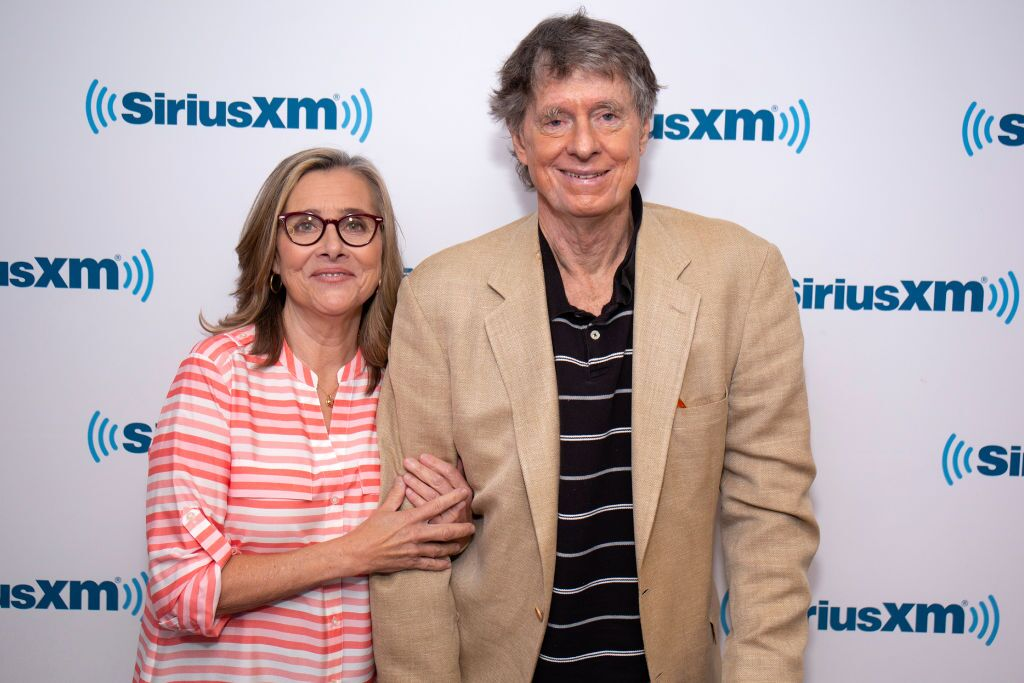 Meredith Vieira and Richard Cohen visit SiriusXM Studios on May 7, 2018 in New York City. | Source: Getty Images