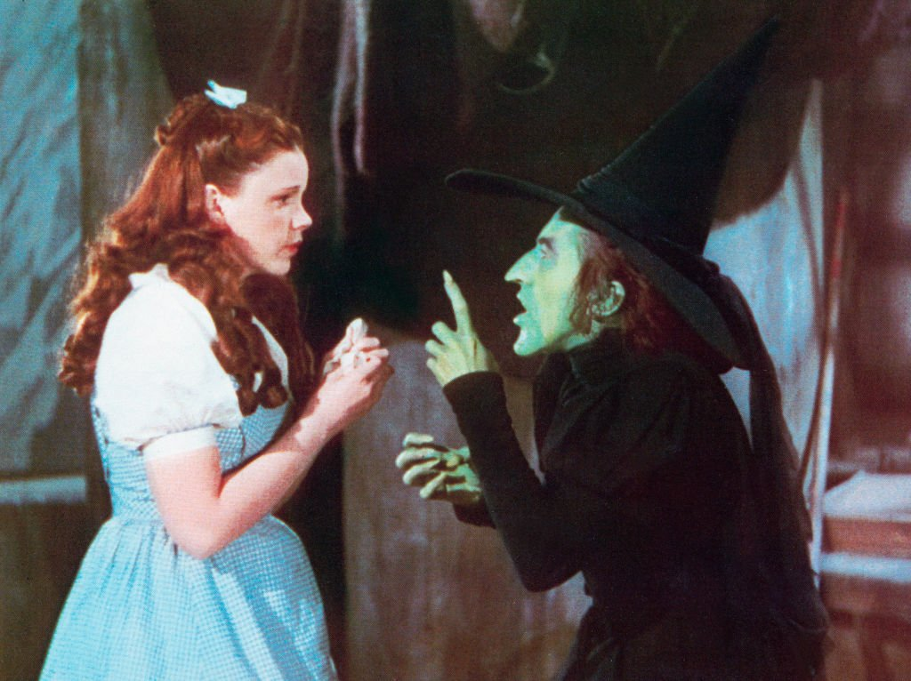 """The Wizard of Oz"", USA, 1939, Regie: Victor Fleming, Darsteller: Judy Garland, Margaret Hamilton. (Foto von FilmPublicityArchiv) I Quelle: Getty Images"