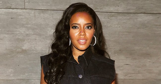 GUHH's Angela Simmons Slays in New Snaps as She Flaunts Her Curvaceous Figure in a Blue Bikini