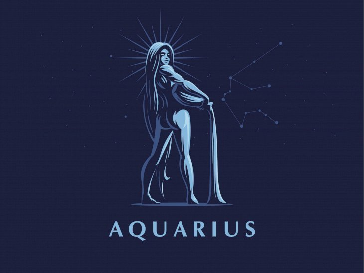 Aquarius sign.  |  Image taken from: Shutterstock