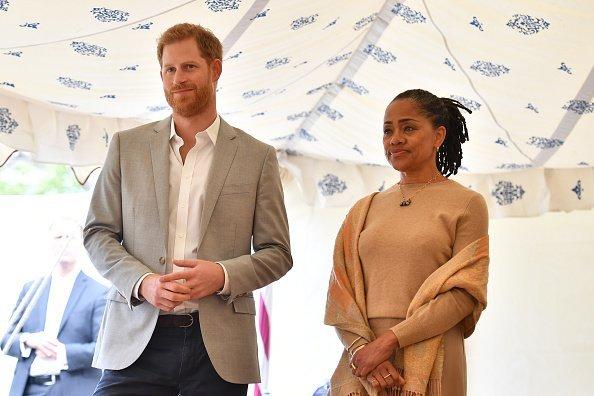 Doria Ragland und Prinz Harry, London, 2018 | Quelle: Getty Images
