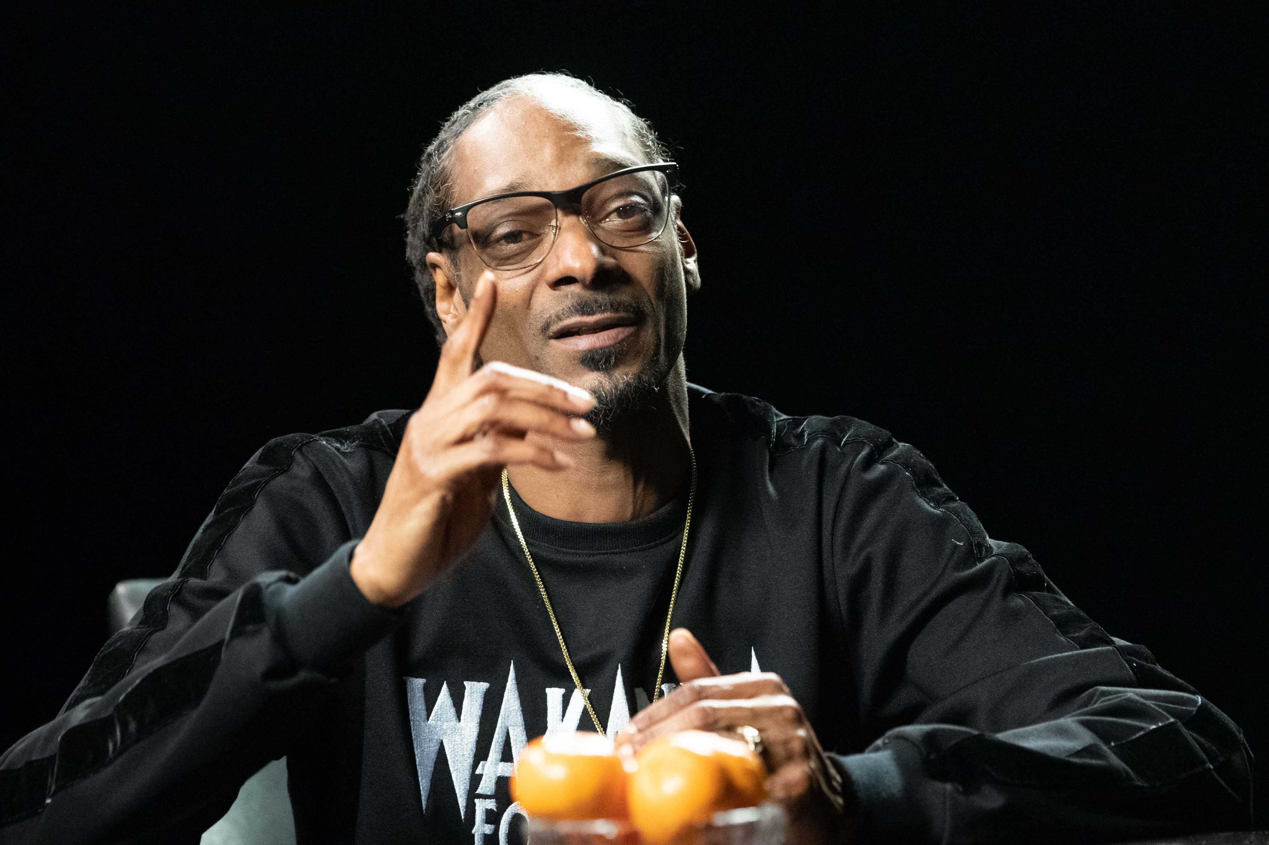 Snoop Dogg speaks in conversation with Kirk Franklin on April 11, 2018 | Photo: GettyImages