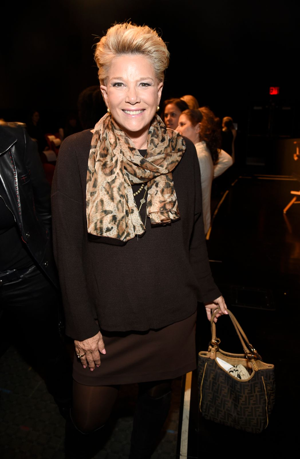 """Joan Lunden atthe screening of""""RX: Early Detection A Cancer Journey With Sandra Lee"""" during The Tribeca Film Festival on April 26, 2018, in New York City 