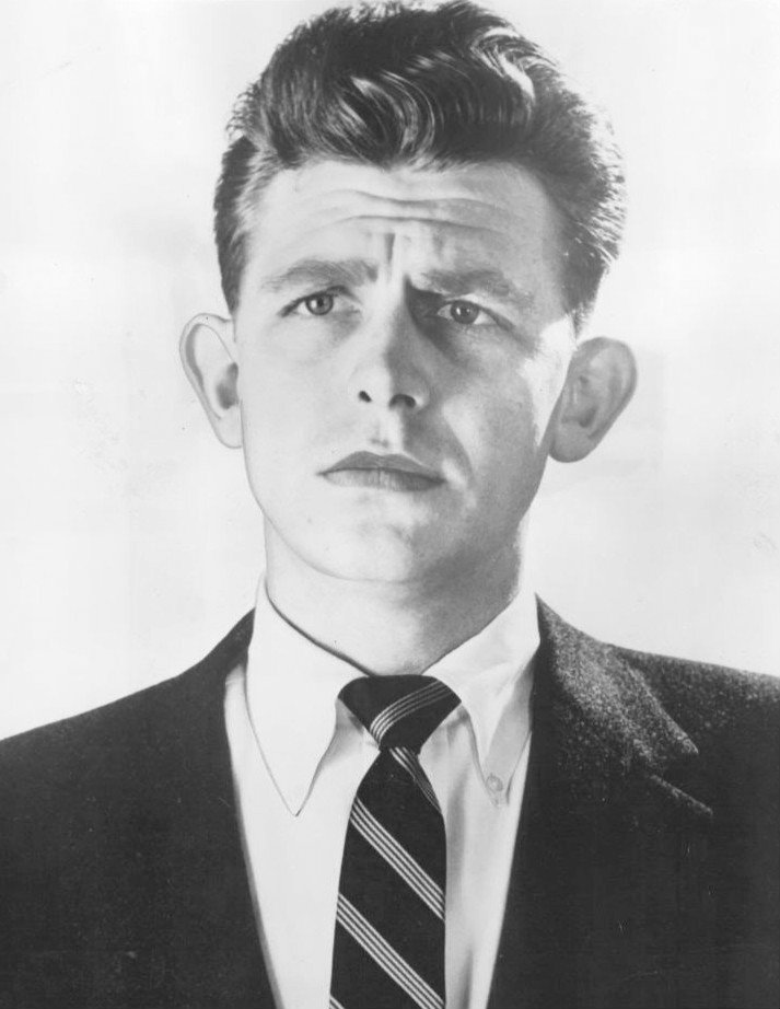 Publicity photo of Andy Griffith dating back to 1955. | Source: Wikimedia Commons