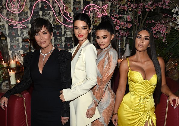 Kris Jenner, Kendall Jenner,  Kylie Jenner and Kim Kardashian in New York City. | Photo: Getty Images.